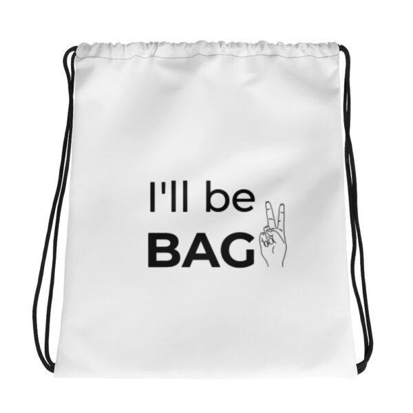 "Kordelzugbeutel ""I'll be bag"""